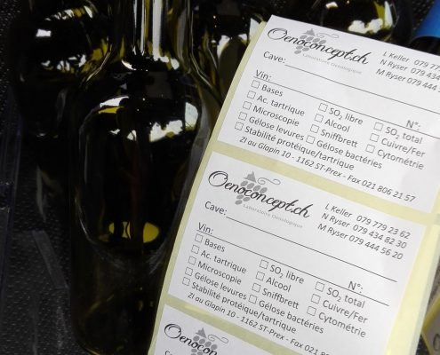 Wöchentliche Weinanalyse..